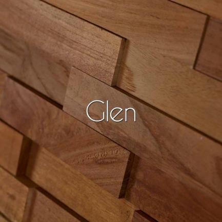 Placare 3D Teak Glen