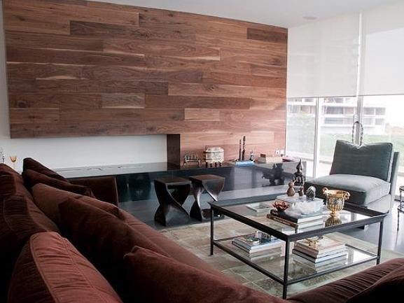 Placari interioare cu lemn